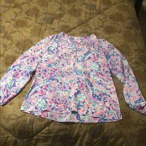 XXS Lilly Pulitzer blouse
